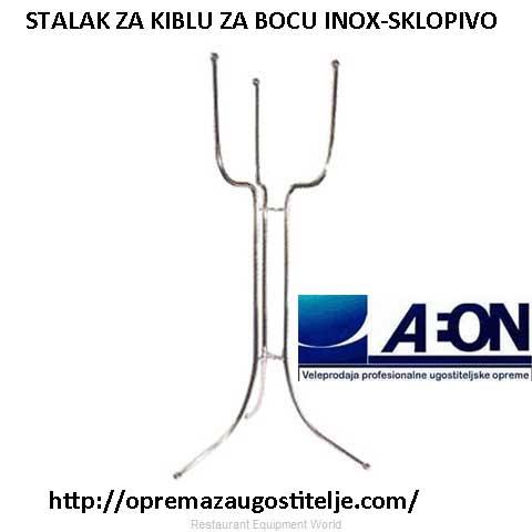 Stalak podni sklopivi za kiblu za bocu-INOX